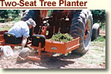 Two-Seat Tree Planter